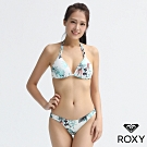 【ROXY】SHADY PALM 波波UP比基尼 白