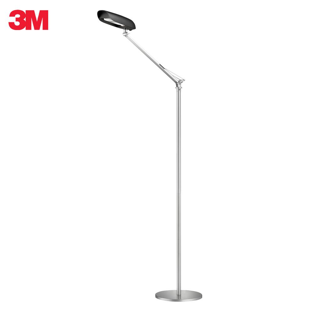 3M 58度博視燈單臂LED立燈-晶鑽黑 GS1600(限量加送眼部按摩器,送完為止)