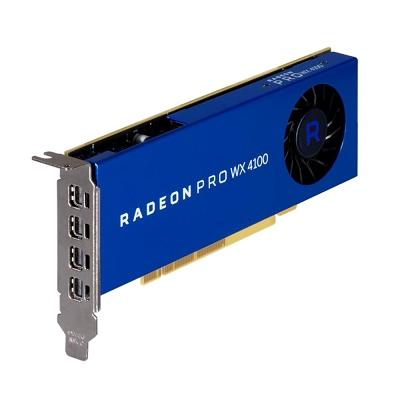 AMD RADEON PRO WX4100工作站顯示卡(無附轉線)