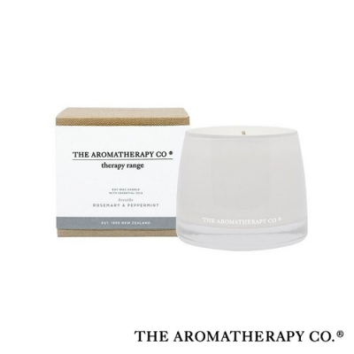 The Aromatherapy Co. 紐西蘭天然香氛 Therapy系列 迷迭香薄荷 Rosemary and Peppermint 260g 香氛蠟燭
