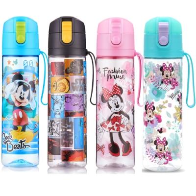 【優貝選】美樂蒂/米妮 可愛兒童直飲式水壺 冷水瓶 500ML