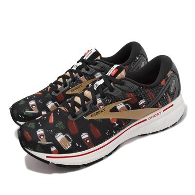 Brooks 慢跑鞋 Ghost 14 避震 穩定 啤酒 男鞋 Deschutes Brewery 聯名 黑 彩 1103691D027
