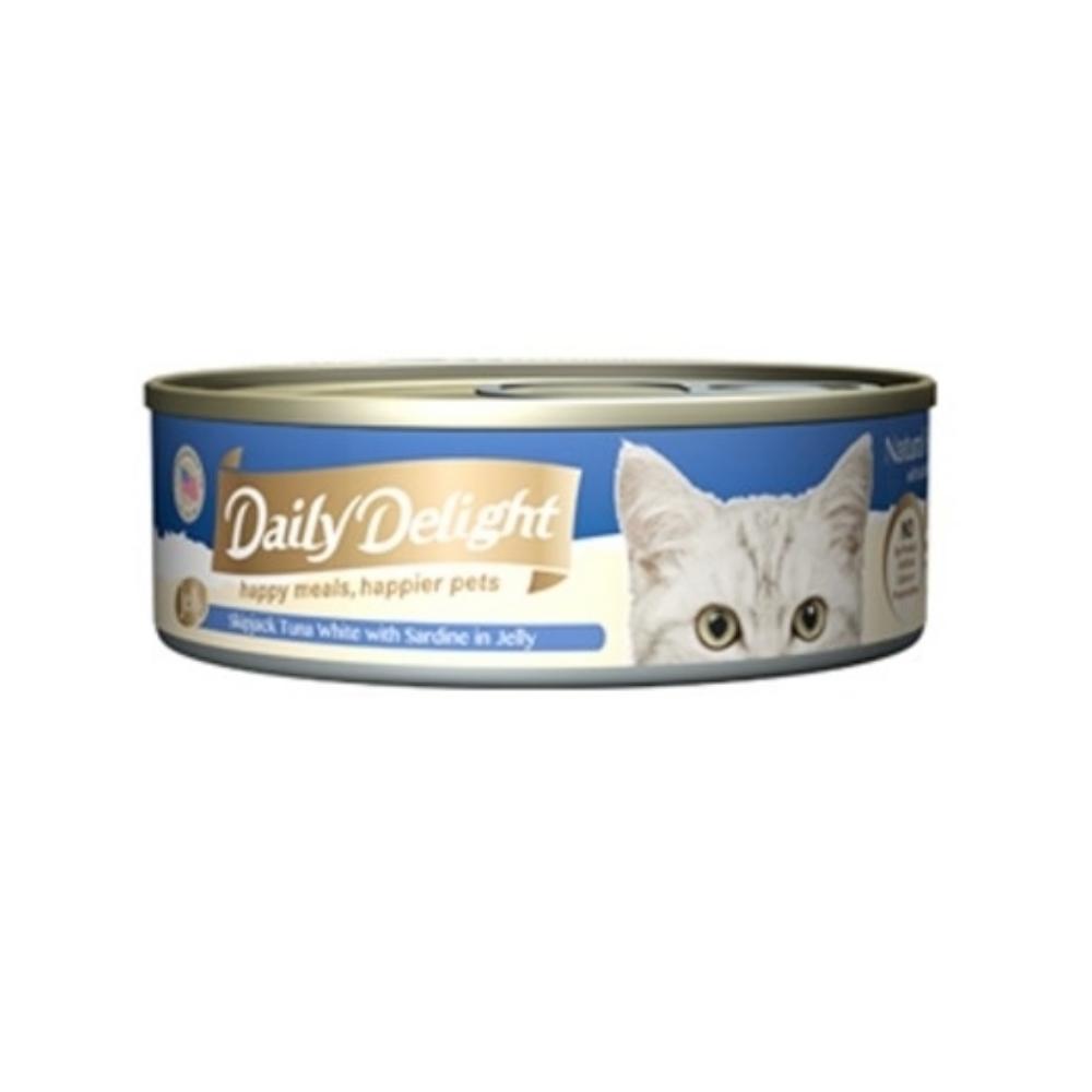 Daily Delight爵士貓吧-機能化毛餐 80G(12罐組)