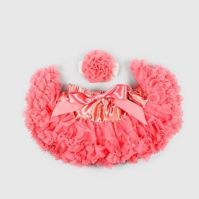 日安朵朵 女嬰童雪紡蓬蓬裙 - 薔薇公主
