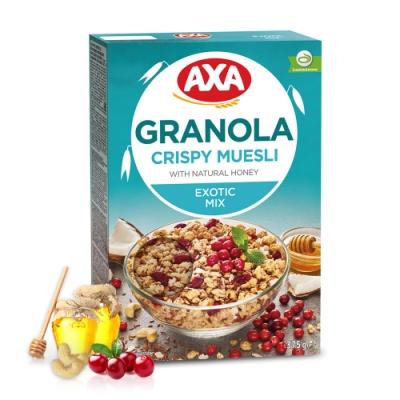 瑞典AXA亞麻籽莓果穀物麥片375g