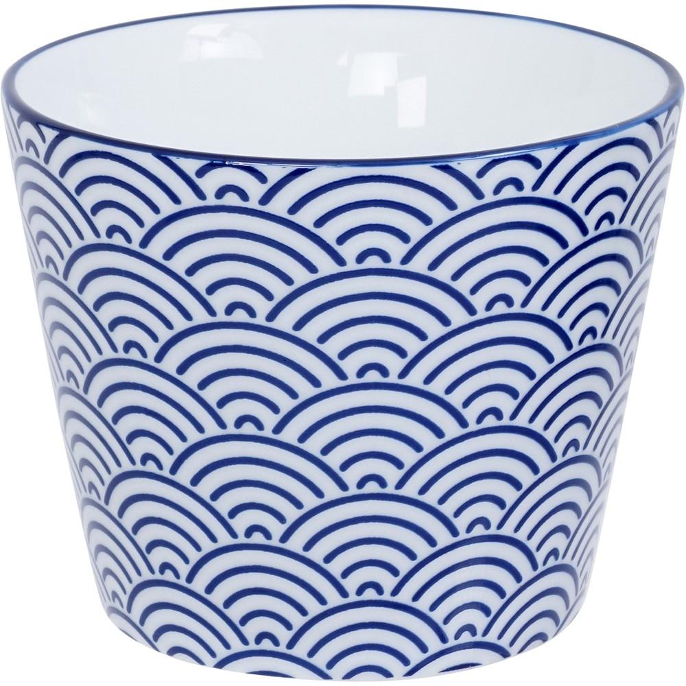 《Tokyo Design》瓷製茶杯(浪紋藍170ml)