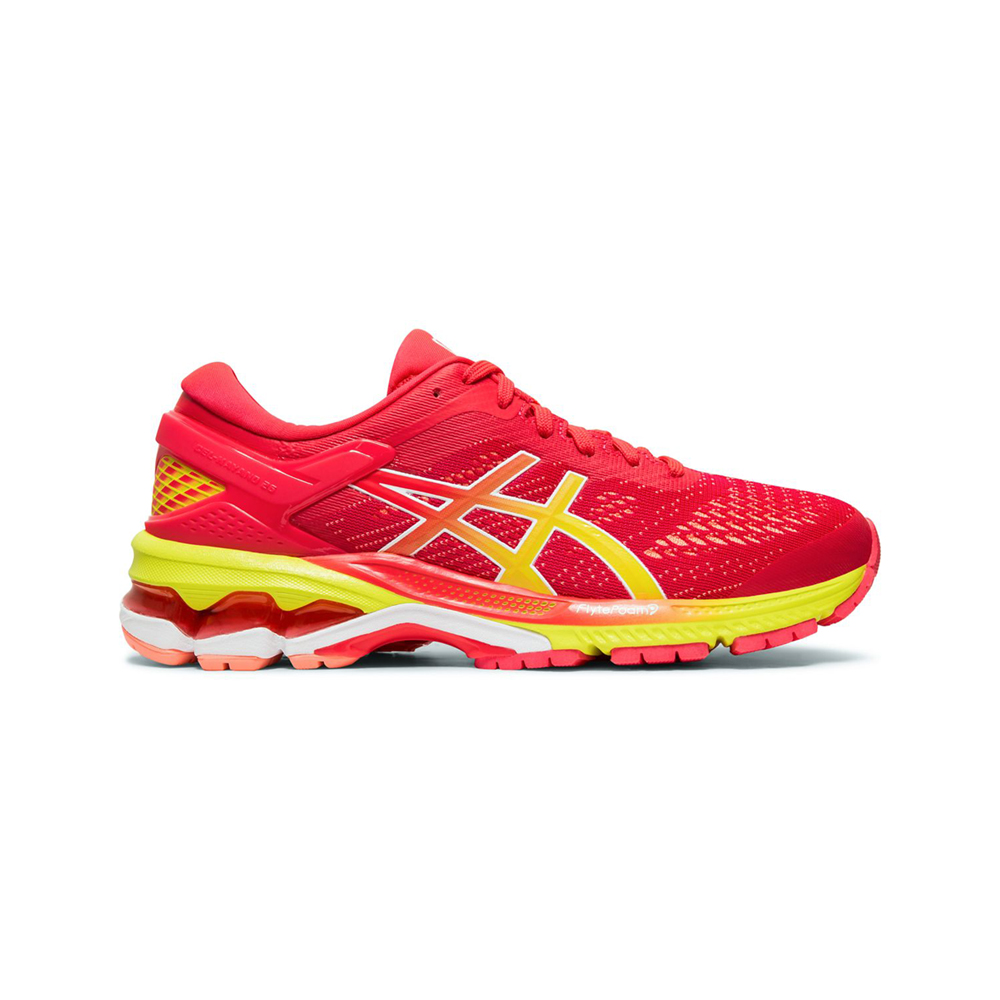 ASICS Gel-Kayano 26 Shine 跑鞋 女(紅)