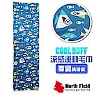 美國 North Field COOL BUFF 降溫速乾吸濕排汗涼感運動毛巾_海洋世界