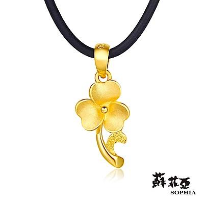 蘇菲亞SOPHIA - G LOVER系列幸福之花黃金項鍊