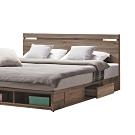 柏蒂家居-麥卡倫工業風3.5尺加大單人床頭片