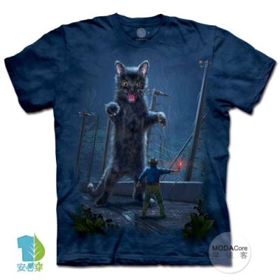 摩達客-美國進口The Mountain 侏羅紀小貓 純棉環保中性短袖T恤