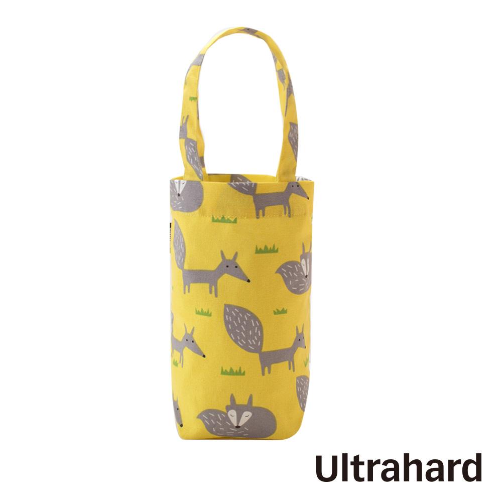 uhplus 隨行環保飲料袋(長版)- 小狐狸(檸黃)