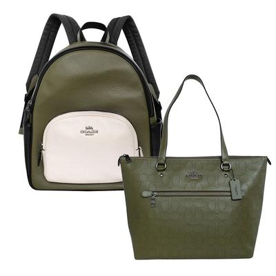 [時時樂] COACH 帥氣軍綠BOY風包款 均一價4711元