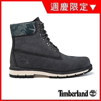 Timberland 男款深灰色磨砂革 Radford 6吋靴 |A1UNY