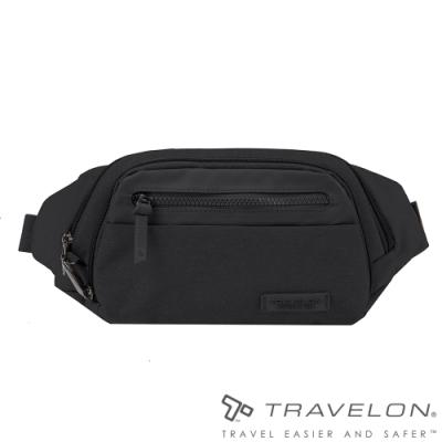 【Travelon美國防盜包】METRO休閒旅遊腰包/斜背包TL-43418黑