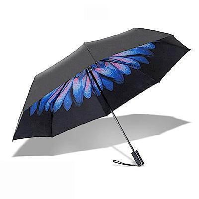 雨傘+手機自拍桿 二合一 兩用