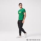 GIORDANO  男裝G-MOTION系列街頭潮流運動束口褲-10 標誌黑
