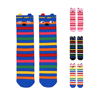 WHY AND 1/2 mini 條紋長筒襪 多色可選