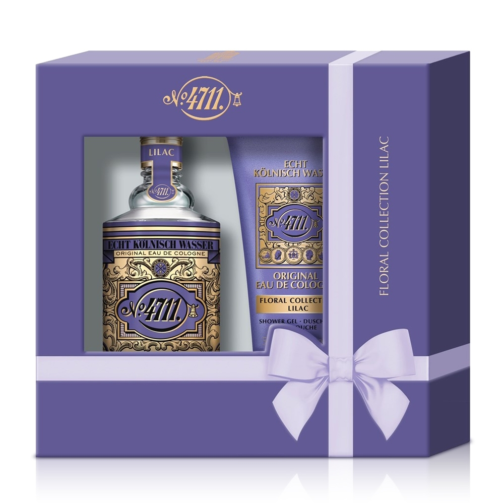 No.4711 Floral Cologne Lilac 紫丁香古龍水禮盒