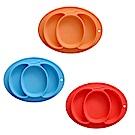 EXPECT兒童南瓜造型矽膠餐盤2入組-顏色隨機