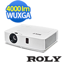 ROLY WUXGA 4000流明 高解析液晶投影機 RP-L401U