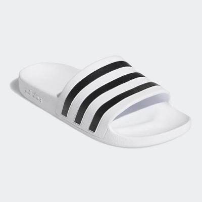adidas 涼拖鞋 休閒 運動拖鞋 女鞋 白 G28719 Adilette Aqua