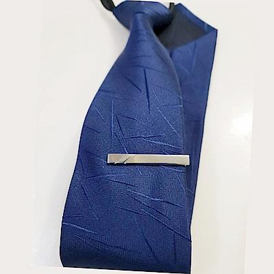 拉福   領帶夾窄版領帶夾窄領夾雙刀(4cm)