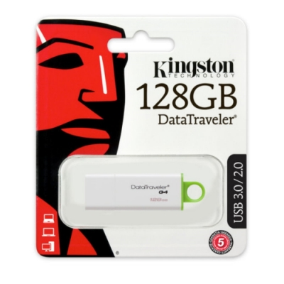 [雙11年度限定]金士頓 Kingston DataTraveler G4 USB3.0 128GB 隨身碟