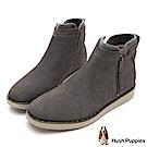 Hush Puppies CHOWCHOW 冬感輕量短靴-灰