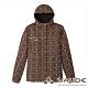 【VAUDE德國】女款花漾印花防水透氣保暖夾克外套VA-01416咖啡 product thumbnail 1