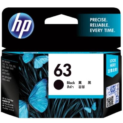 HP F6U62AA 原廠黑色墨水匣 NO:63