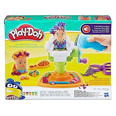 培樂多Play-Doh 創意DIY黏土 理髮師遊戲組 附電動推髮器 E2930
