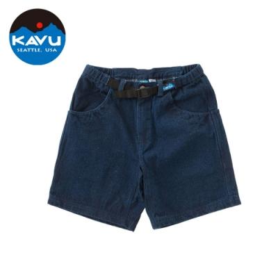 【KAVU】 Chilliwack Short 工作短褲 丹寧藍 #400