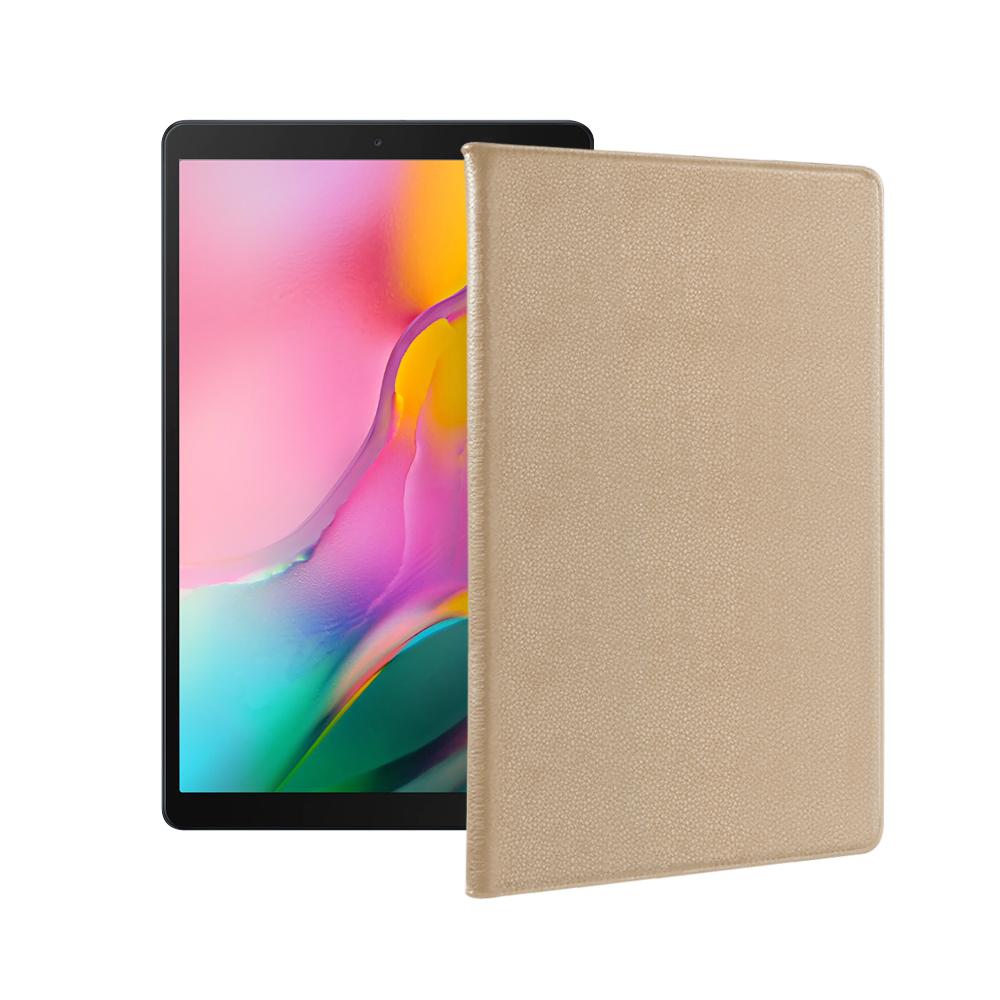 For 三星 Galaxy Tab A (2019) 10.1吋品味皮革紋皮套