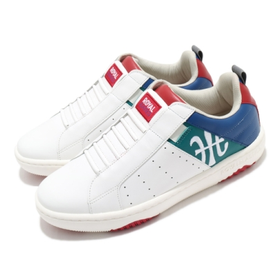 Royal Elastics 休閒鞋 Icon Manhood 2 男鞋 基本款 套腳 簡約 皮革 質感 穿搭 白 紅 06501045