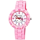 Sanrio三麗鷗 數字轉圈系列手錶 Hello Kitty臉紅凱蒂貓34mm粉紅色 product thumbnail 1