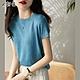 初色  閃亮純色針織衫-共8色-(F可選) product thumbnail 1