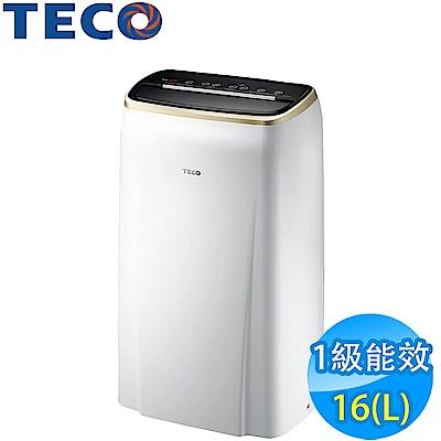 TECO東元 16L <b>1</b>級清淨除濕機 MD3209RW 全新福利品
