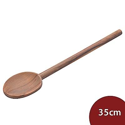 丹麥Scanwood 橄欖木長柄湯匙 35cm