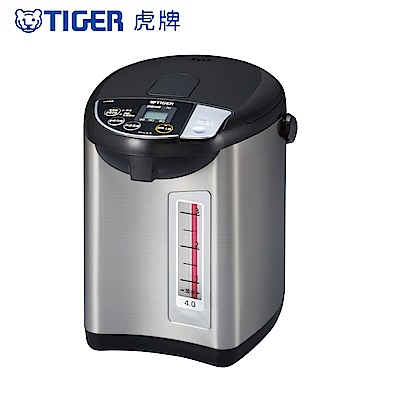 (日本製)TIGER虎牌4.0L超大按鈕電熱水瓶(PDU-A40R)