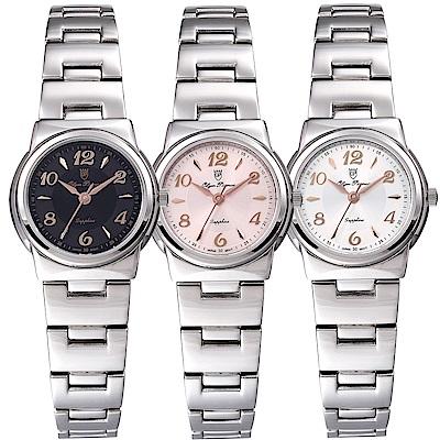 OlymPianus奧柏表 粉彩系列簡約腕錶