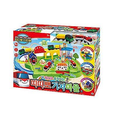 韓國火車嘟嘟嘟 火車村莊遊戲組TI48751 TITIPO  ICONIX 公司貨