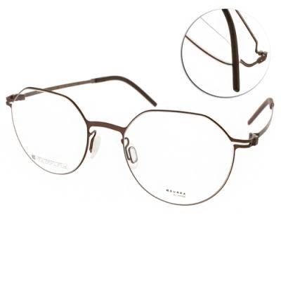 VYCOZ眼鏡 DURRA系列 薄鋼 微寶石造型款 /棕 #DR9007 BRN