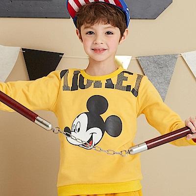 Disney 米奇系列俏皮米奇刷毛上衣(共2色)