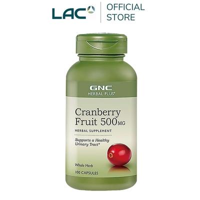 【LAC利維喜】GNC健安喜 蔓越莓膠囊100顆(私密呵護/拒當悶騷妹/快速到貨)