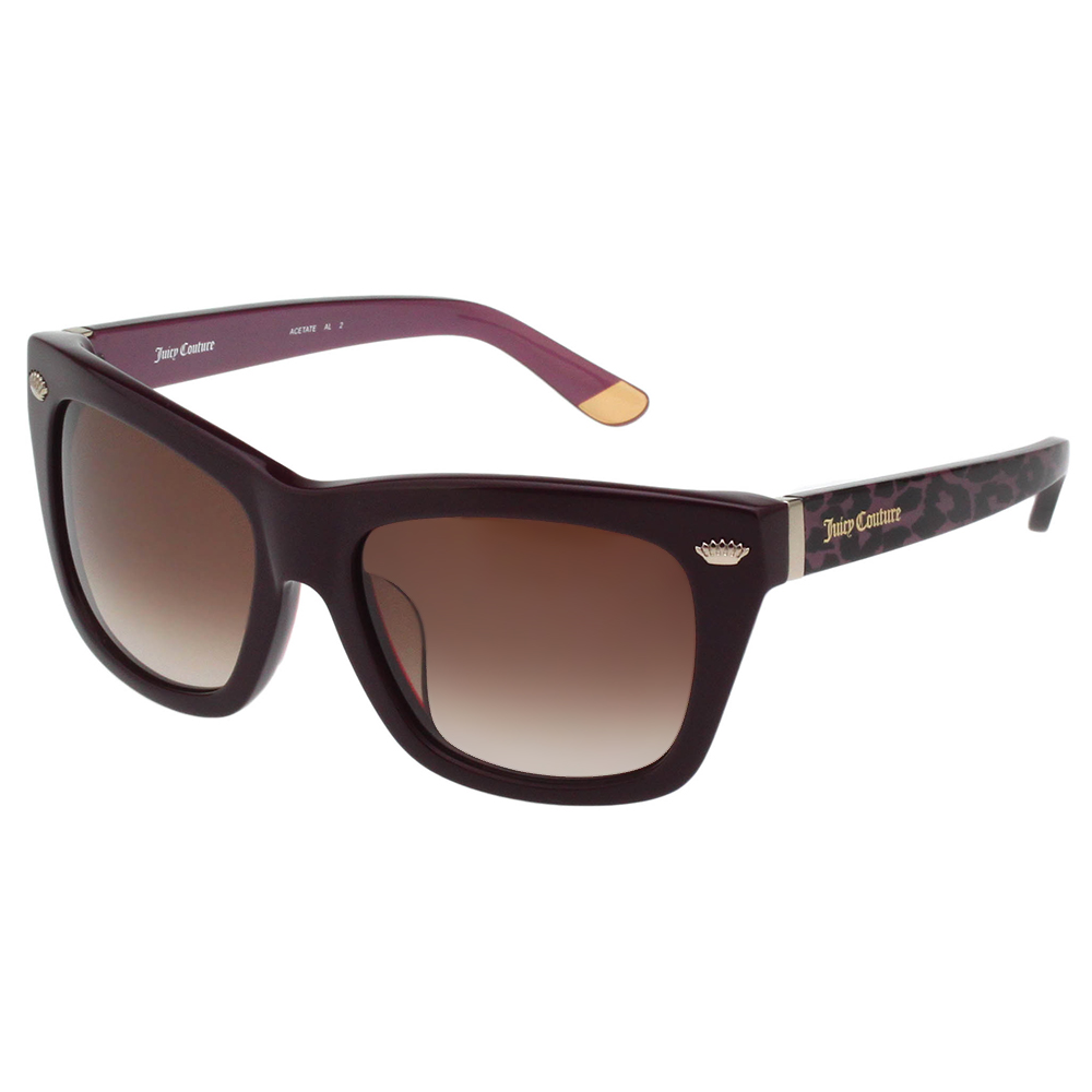 Juicy Couture 修臉款 太陽眼鏡(深紫色)