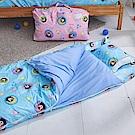 戀家小舖 / 兒童標準睡袋  熊本熊樂園-兩色可選  高密度磨毛布  台灣製