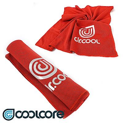COOLCORE Chill Sport涼感運動巾【橘紅色】