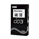 FUJI-NEO 不二新創 纖薄003 衛生套 保險套 12入