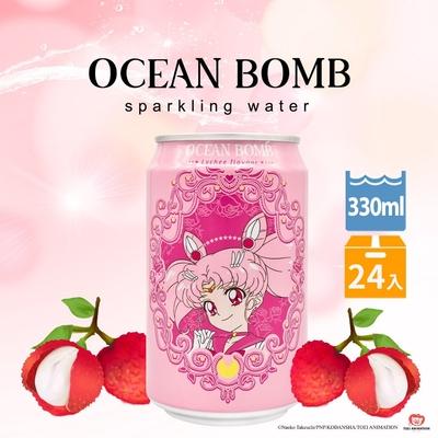 Y.H.B 海洋深層氣泡水24入組-荔枝風味(330ml/罐)